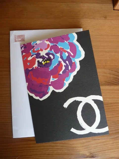 Chanel spring summer 2011 fashion show invitation