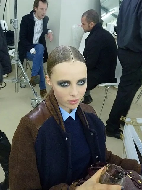Edie Campbell at Chanel