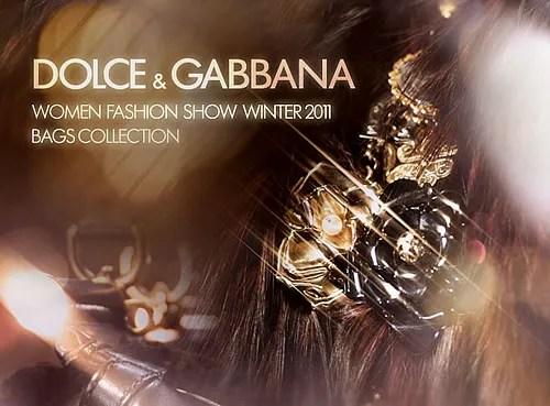 Dolce & Gabbana Fall Winter 2010 Handbags