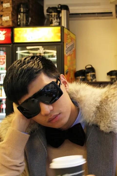 Bryanboy Karen Walker Sunglasses