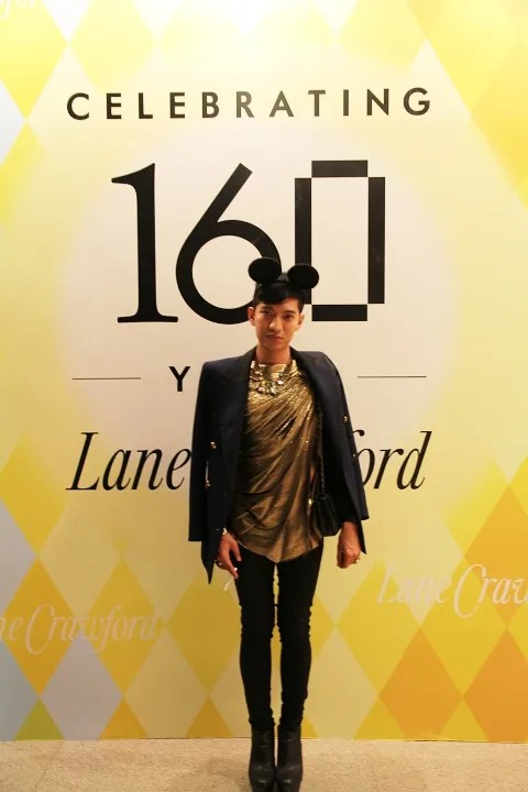 Bryanboy at Lane Crawford