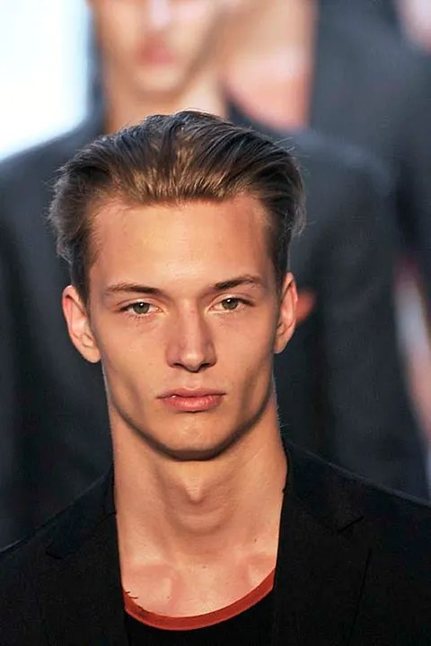 Linus Gustin at Z Zegna Spring Summer 2011