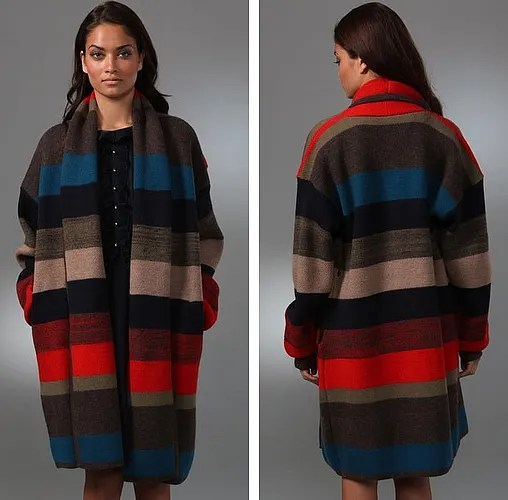 Marc by Marc Jacobs blanket sweater