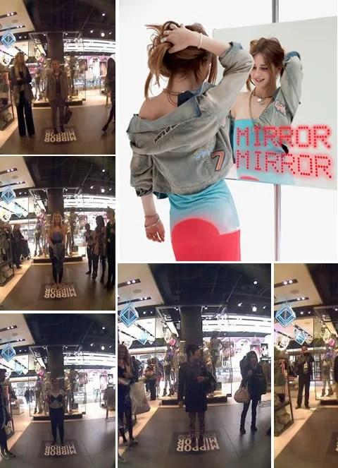 Showstudio and Topshop Mirror Mirror