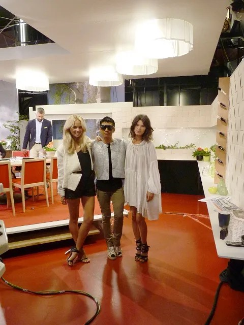 TV4 Nyhetsmorgon featuring Hanneli Mustaparta, Bryanboy and Elin Kling