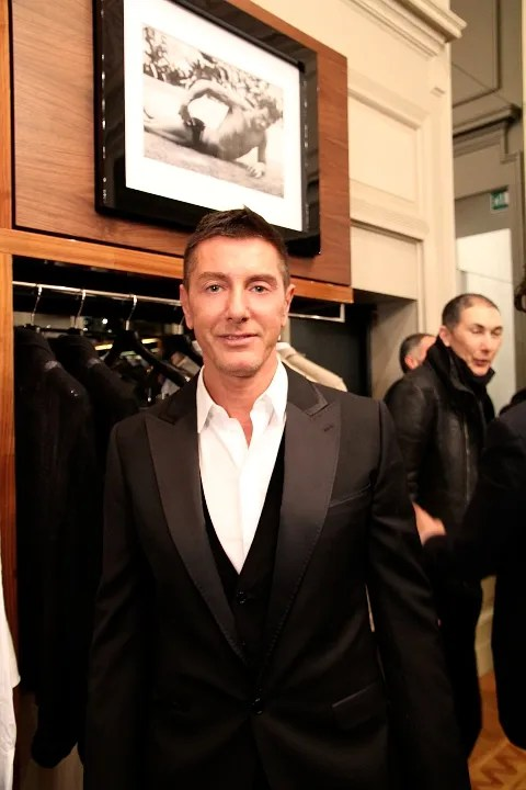 Stefano Gabbana at Uomini by Mariano Vivanco