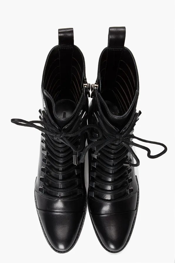 Alexander Wang Andrea boots - top view