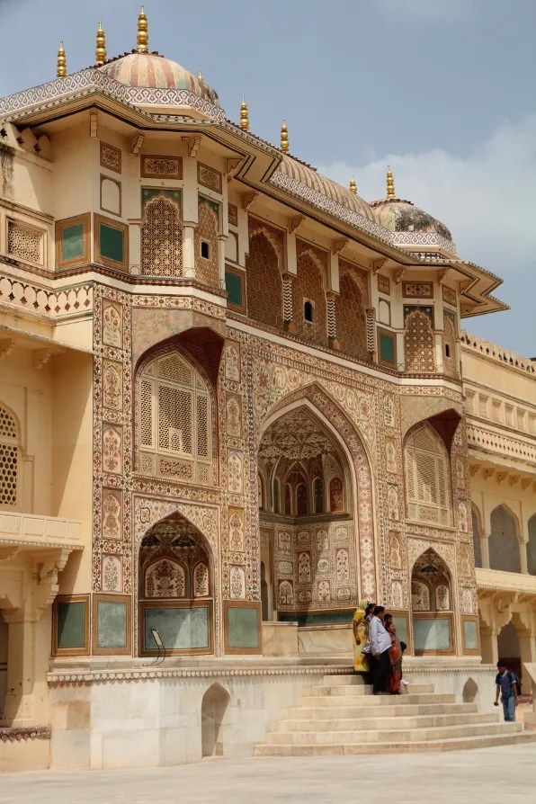 Amber Palace in Japur, India