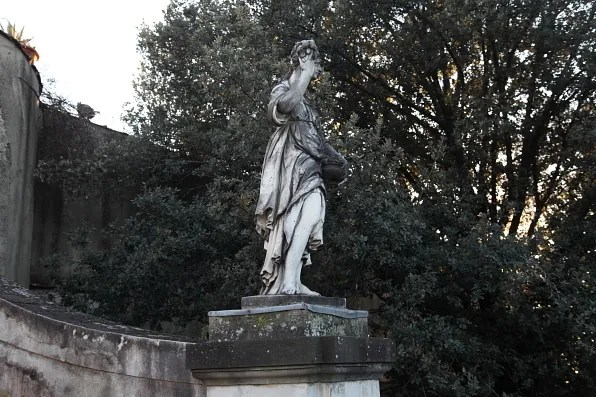 Garden of the Cavalier statue at Boboli Gardens, Florence