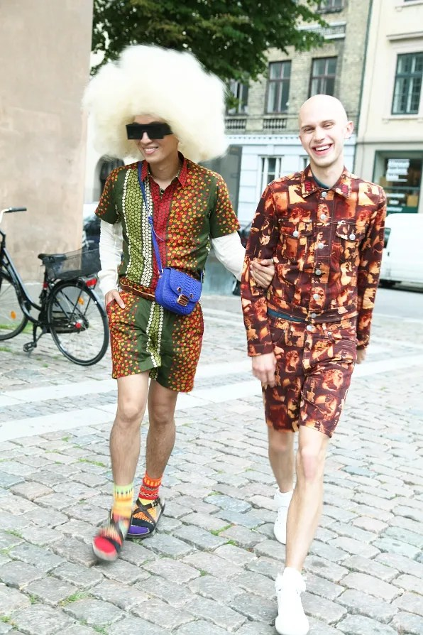 Bryanboy and Emil Nissen in Copenhagen