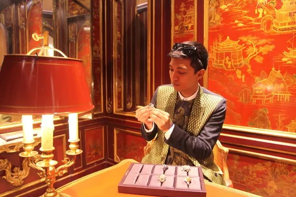 Bryanboy at Boucheron, Paris