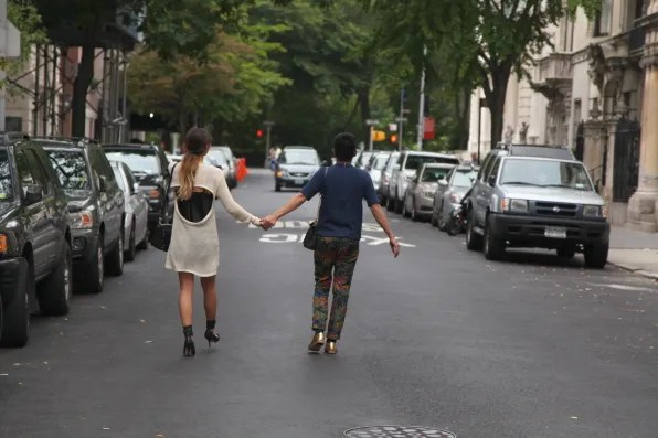 Bryanboy and Rumi Neely in New York City