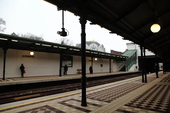 Schonbrunn Station Vienna