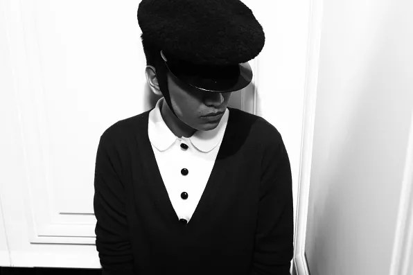 Bryanboy wearing a Louis Vuitton hat at Christian Dior Fashion's Night Out 2011