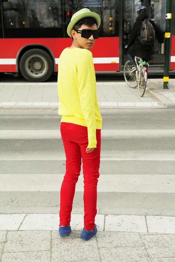 Bryanboy Colour Blocking story March 2011