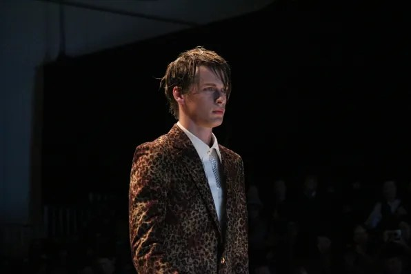 Dresscamp fall winter 2011 menswear leopard print jacket