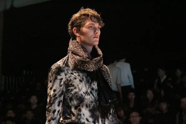 Dresscamp fall/winter 2011 menswear - lynx shirt