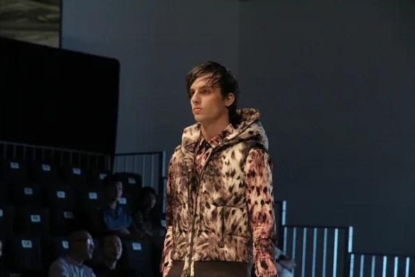 Dresscamp fall winter 2011 menswear lynx print vest