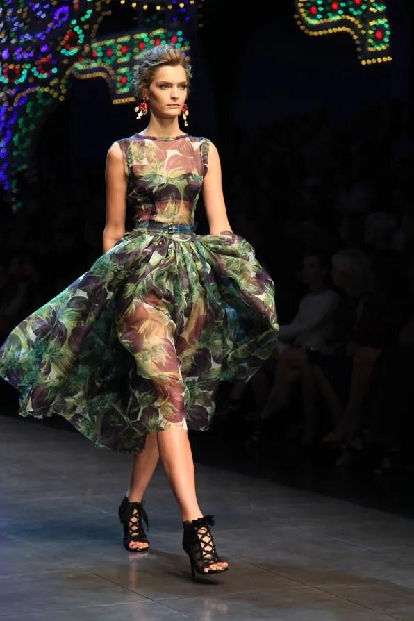 First Look - Dolce & Gabbana Spring Summer 2012 Fashion Show