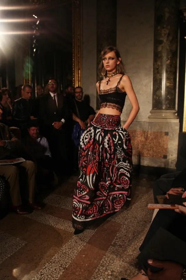 Emilio Pucci Spring Summer 2012: Look 1