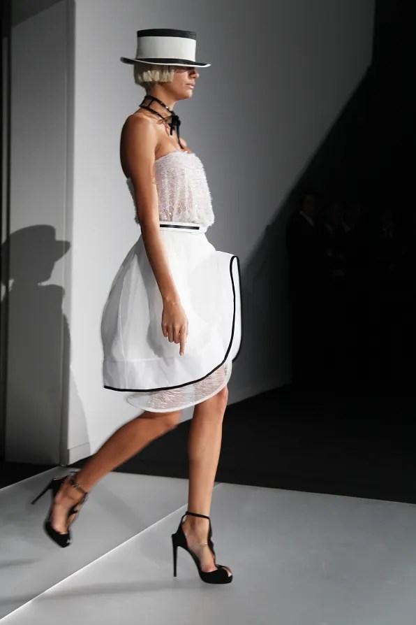 First Look - Emporio Armani Spring Summer 2012 - Look 3