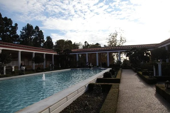 Getty Villa Outer Peristyle Fountain