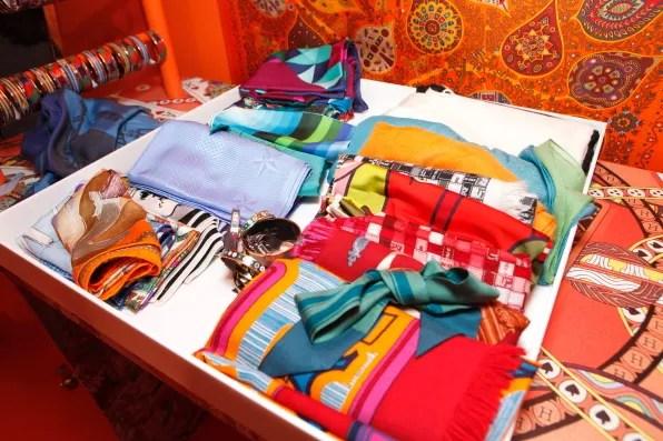 Hermes silk scarves for sale in Tokyo