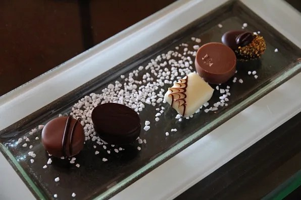 Marina Bay Sands hotel chocolates