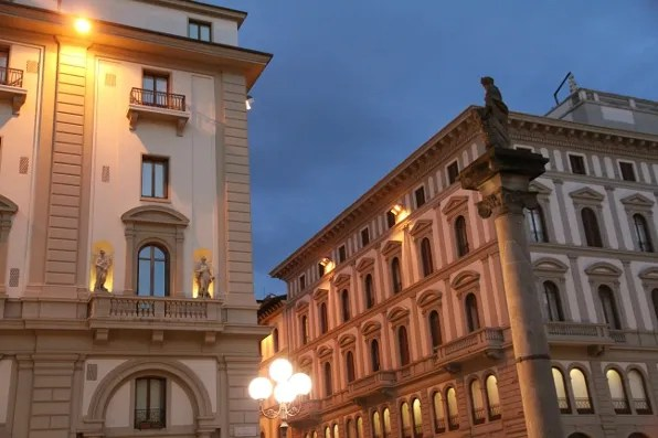 Hotel Savoy and Rinascente Firenze