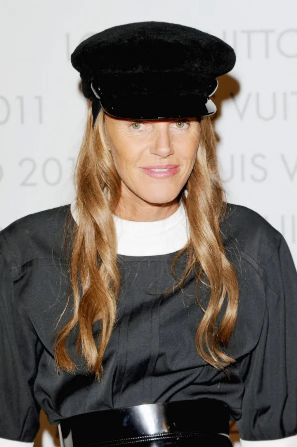 Anna Dello Russo at Louis Vuitton Art of Fashion exhibit Milan