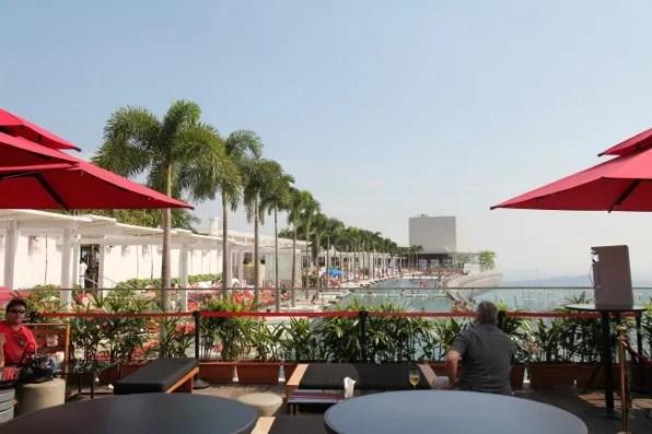 Marina Bay Sands hotel Singapore Ku De Ta