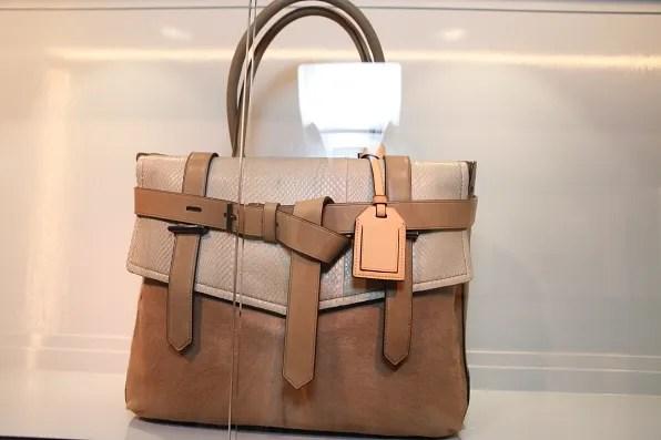 Reed Krakoff Boxer bag in snakeskin and pony skin