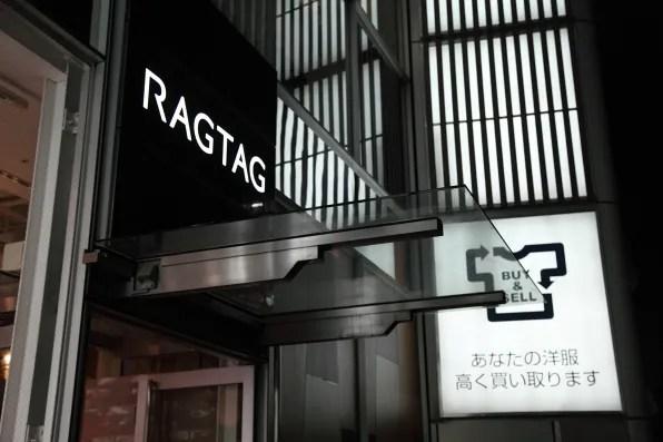 RagTag store Tokyo