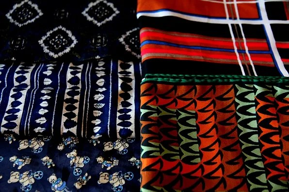 Vintage men's scarves from Herr Judit Stockholm