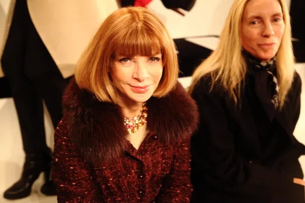Anna Wintour at Ralph Lauren