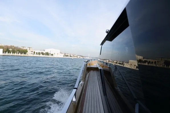 Istanbul yacht ride