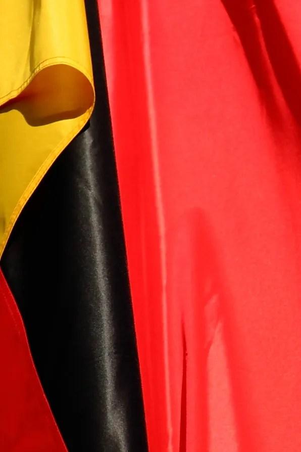 German flag, in Berlin