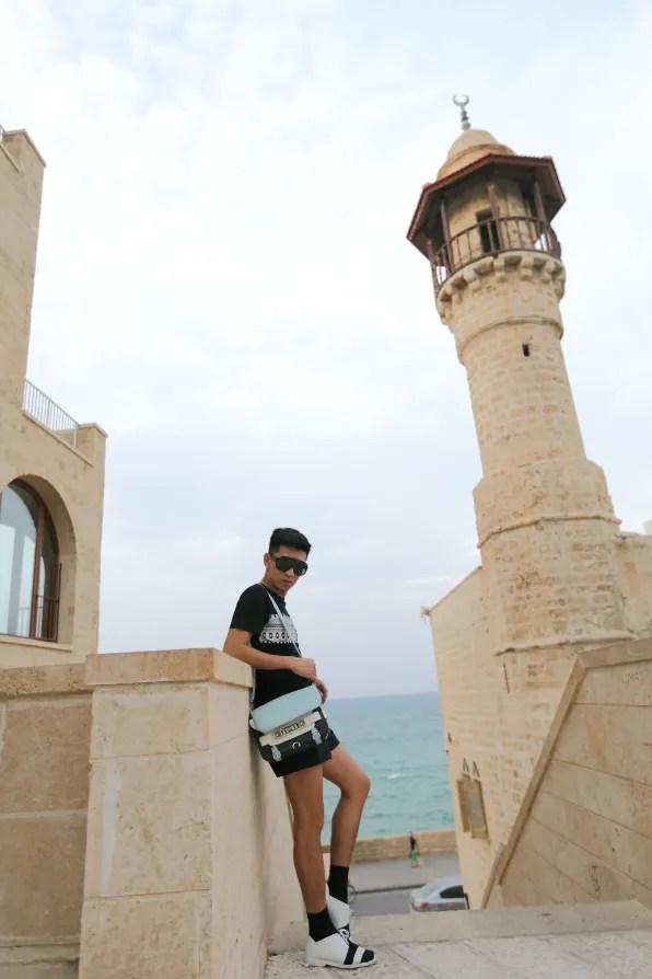 Bryanboy in Jaffa, Tel-Aviv Israel