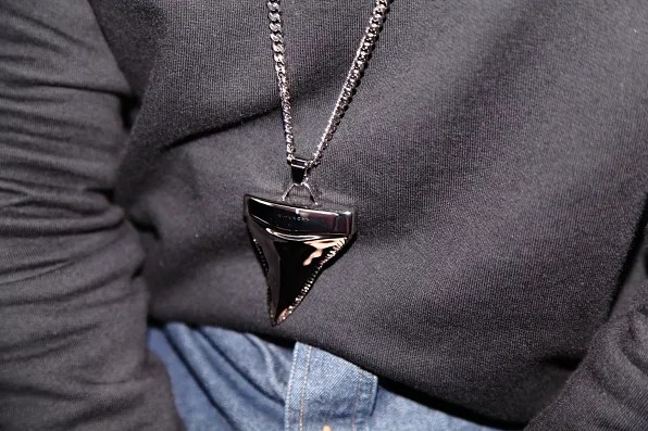 Givenchy shark's tooth necklace
