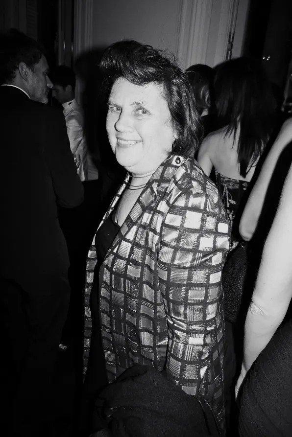 Suzy Menkes at the Carine Roitfeld black-tie 'Le Bal' for MAC Cosmetics
