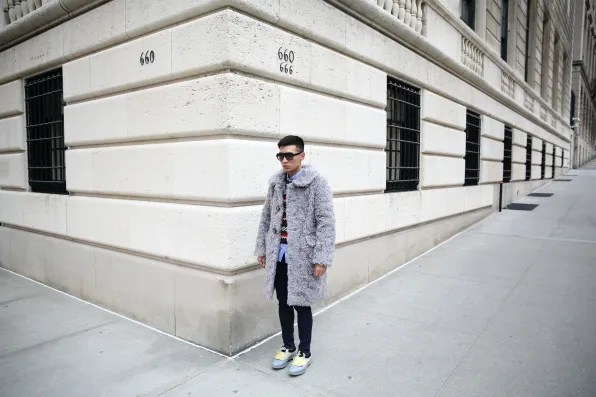 Bryanboy in the Upper East Side, New York
