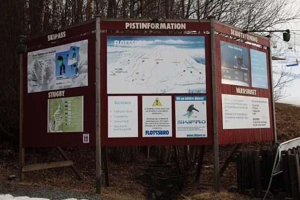 Flottsbrogården Piste Information