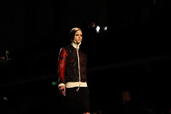 Kate Kondas at Jean Paul Gaultier Fall Winter 2012 fashion show