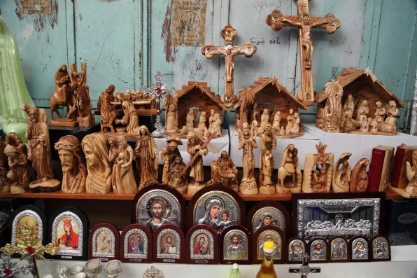 Christian souvenirs, Jerusalem