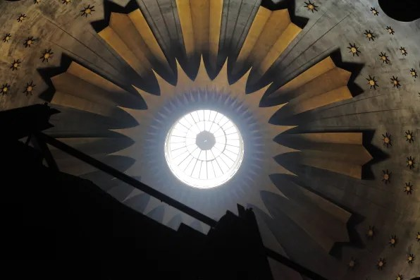 Ceiling of Church of the Holy Sepulchre