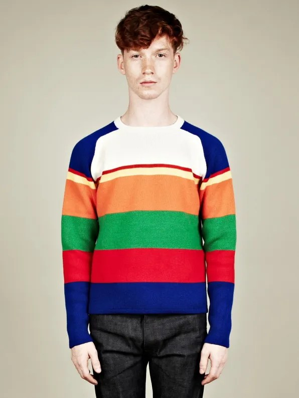 JW Anderson sweater similar to vintage J Crew sweater