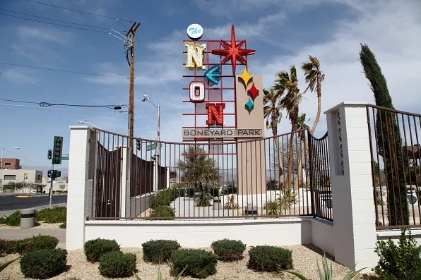 Neon Boneyard Park, Las Vegas