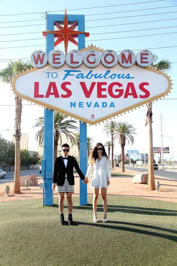 Bryanboy and Rumi Neely in Las Vegas