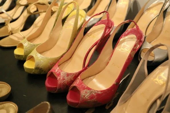 Christian Louboutin for Marchesa spring summer 2013 shoes