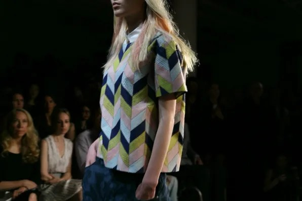 Peter Som python top from spring summer 2013 collection